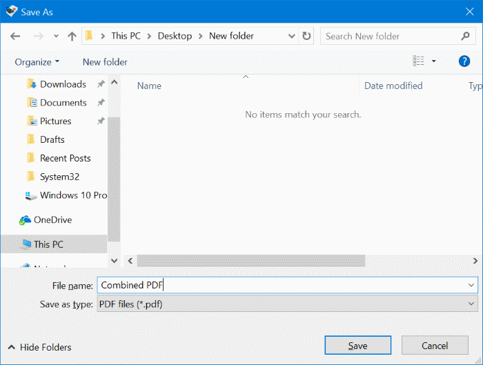 How to Combine PDF Files By Using Windows OR MAC pic 4