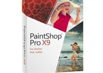 Corel PaintShop Pro X9 Download Free