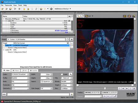 MainConcept TotalCode Studio 3.5 Free Download