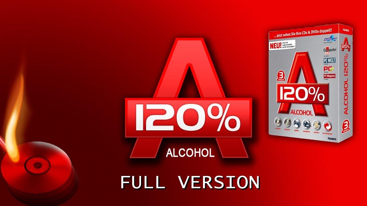 Alcohol 120{41dbad19a06ad9da31f4016efa2102a0a457b281954b7d2a0ce041cb38458304} Free Download