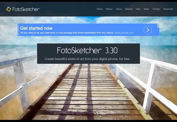 FotoSketcher 3.30 Free Download