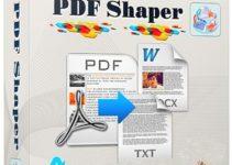 PDF Shaper 8.7 Free Download
