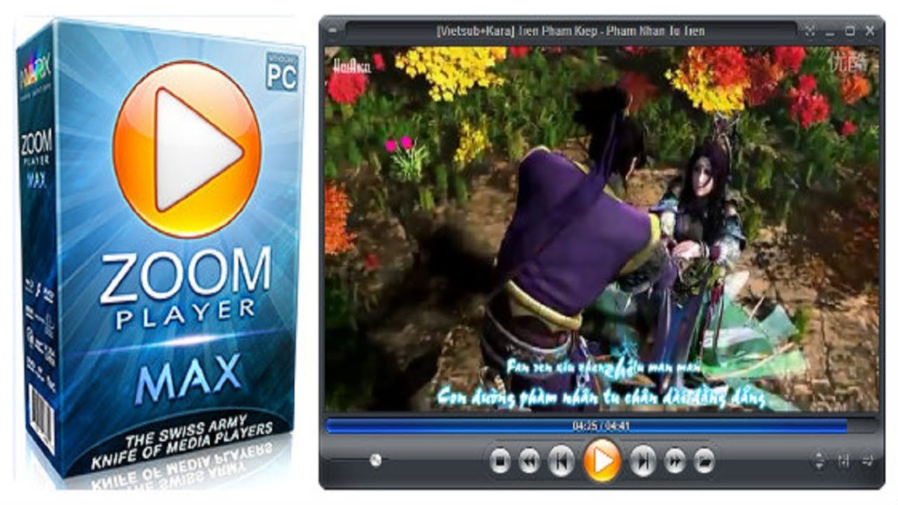 Zoom Player MAX 14 Free Download