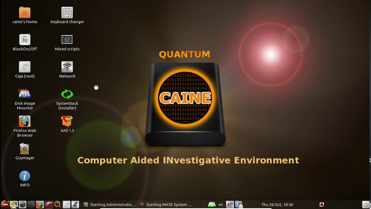 Caine 8.0 Linux Free Download