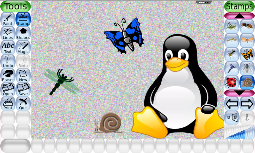 Tux Paint Drawing Free Download